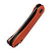 CIVIVI Elementum Orange G10 Black (C907Y) closed frame