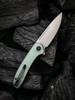 WE Knife Co. Saakshi Natural G10 (WE20020C-4) open clipside