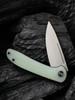 WE Knife Co. Saakshi Natural G10 (WE20020C-4) half open