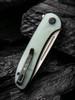 WE Knife Co. Saakshi Natural G10 (WE20020C-4) closed clipside