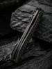 WE Knife CO. Black Void Opus Black Titanium Carbon Fiber (2010V-1) closed frame