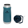 Stanley IceFlow™ Flip Straw Water Bottle Lagoon 17 oz (10-09991-015) lid and bottle