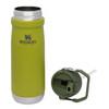 Stanley IceFlow™ Flip Straw Water Bottle Aloe 22 oz (10-09992-014) lid and bottle