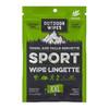 Outdoor Wipes Bamboo Wet Wipes XXL Eucalyptus 8Pk (OWEUXXL) packaging