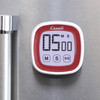 Escali Touch Screen Digital Timer Red (DR3-R) magnetic