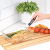 Escali Gourmet Digital Thermometer Black (DH1-B) lifestyle resting