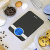 Escali Ciro Digital Scale Black (C115B) lifestyle baking