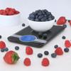 Escali Ciro Digital Scale Black (C115B) lifestyle fruit