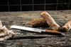 "Laguiole Style de Vie Luxury 8"" Bread Knife Olive Wood (BroodOlijfLag) baguette"
