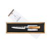 """Forged Olive Utility Knife 5"""" (OliveUni) in box"""