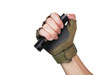 Fenix PD36R Rechargeable Flashlight (PD36R) in hand