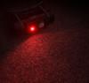 NiteCore HC65 Triple Output Metal Rechargeable Headlamp (HC65) red light