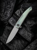 WE Knife Co. Smooth Sentinel Titanium with Natural G10 (WE20043-2) open