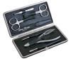 DOVO Manicure Set 7pc Black (302011NZ)