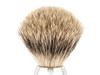 Ice Shave Brush - Pure Badger (Chrome) (ISB-PB2)