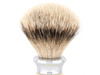 Ice Shave Brush - Silvertip Badger (Chrome/Ivory) (ISB-ST3) (999442)