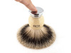 Ice Shave Brush - Best Badger (Chrome/Ivory) (ISB-BB3)