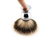 Ice Shave Brush - Silvertip Badger (Chrome) (ISB-ST2)