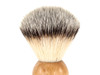 Ice Shave Brush - Synthetic (Wood) (ISB-SY4) (999443)