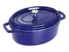 Staub Cocotte Oval 3.25Qt/3.2L Blue (40510-269)