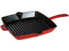 "Staub American Grill Pan Square 12"" Cherry (40510-305)"