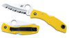Spyderco Salt 1 - Fully Serrated - Yellow FRN (C88SYL)