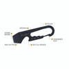 Nite Ize DoohicKey Key Tool Black (KMT-01-R3)