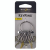 Nite Ize KeyRing S-Biner - Stainless (KRGS-11-R3)