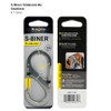 Nite Ize S-Biner SlideLock #4 - Stainless Steel (LSB4-11-R3)