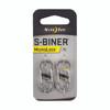 Nite Ize S-Biner MicroLock - 2pk - Stainless Steel (LSBM-11-2R3)