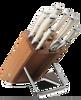 Wusthof Classic Creme Ikon 9-Piece Block Knife Set (9879)