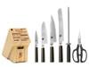 Shun Classic 7pc Knife Block Set - HOK Exclusive (DMS0700)