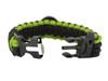 Black Tusk Survival Bracelet Large - Green (PARL-GR)