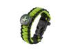 Black Tusk Survival Bracelet Medium - Green (PARM-GR)