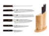 Shun Hiro 7pc Knife Block Set (SGS0600)