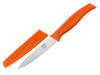 Kussi Paring 4 inch Knife with Sheath - Orange (8100OR)