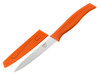 "Kussi 4"" Serrated Utility Knife with Sheath - Orange (8500OR)"