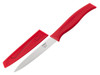 "Kussi 4"" Serrated Utility Knife with Sheath - Red (8500RD)"