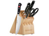 Wüsthof Classic 7-Piece Block Set w/ Uber Chef Knife (8401-1H)