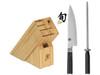 Shun Classic 3pc Build-a-Block Knife Set (DMS2200K)