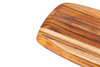 Teak Haus Round-Edge Cutting Board (TH202)