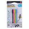 """Nite Ize GearTie Cordable Twist Tie 3"""" - 4 Pack - Assorted (GTK3-A1-4R7)"""