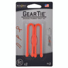 "Nite Ize Gear Tie 6"" - 2pk - Orange (GT6-2PK-31)"