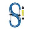 Nite Ize S-Biner SlideLock #2 Aluminum - Blue (LSBA2-03-R6)