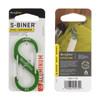 Nite Ize S-Biner #3 Aluminum - Lime (SBA3-17-R6)