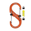 Nite Ize S-Biner SlideLock #3 Aluminum - Orange (LSBA3-19-R6)