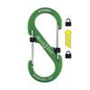 Nite Ize S-Biner SlideLock #4 Aluminum - Lime (LSBA4-17-R6)