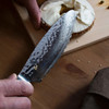 "Shun Premier Ultimate 6"" Utility Knife (TDM0741) lifestyle in hand"