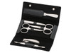 Erbe 6pc Manicure Set Carbon Fibre (9361)