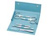 Erbe Soft Case 5pc Manicure Set Turquoise (9205)